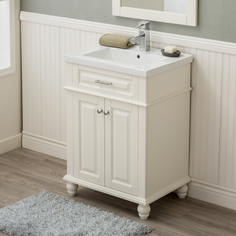 Durrah 24 Single Sink Bathroom Vanity