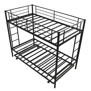 Adelyn Twin over Twin Bunk Bed with Trundle