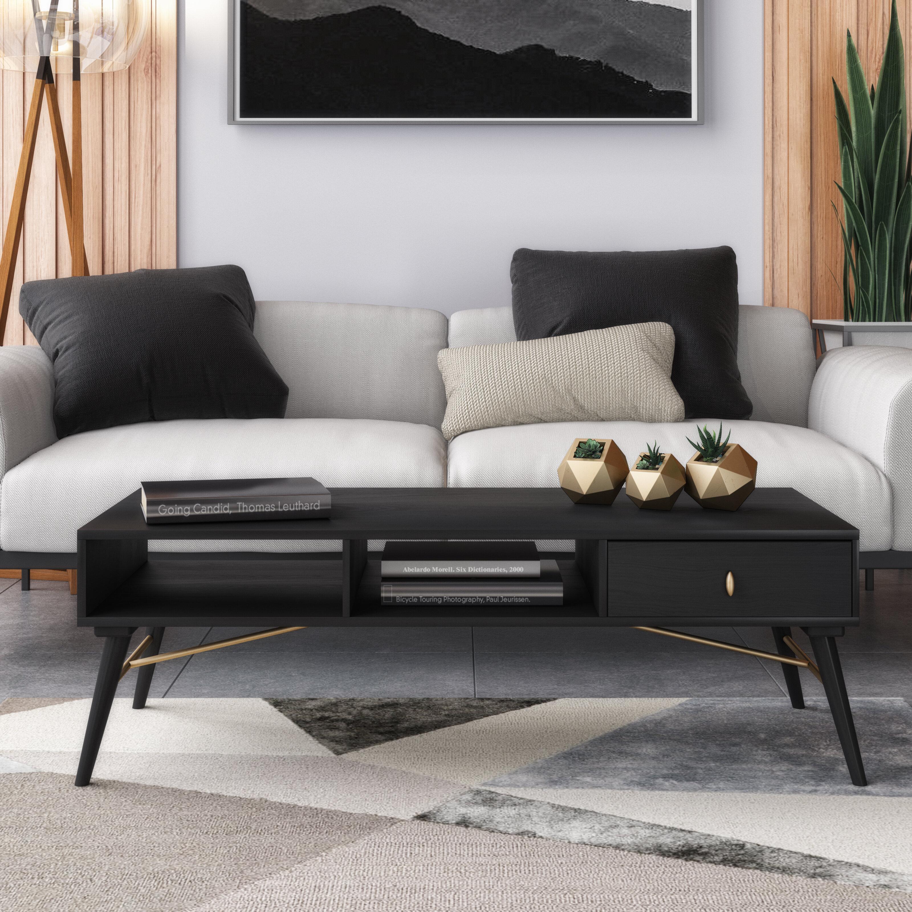 Corrigan Studio Harpa Coffee Table With Storage Wayfair