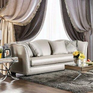 Borkholder Silky Upholstery Sofa by Rosdorf Park