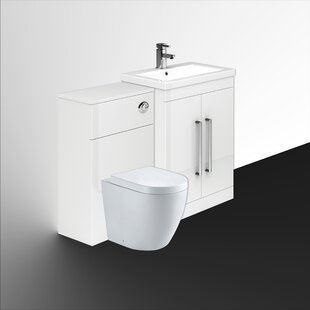 Aparicio 600cm Bathroom Furniture Suite By Mercury Row