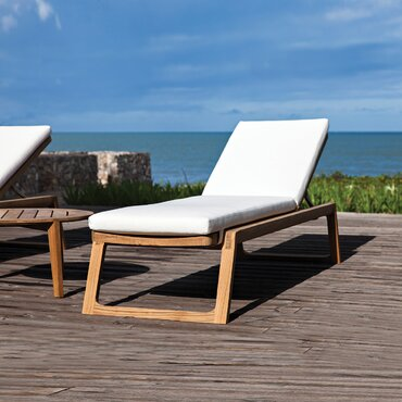 Diuna Outdoor Chaise Lounge Cushion Clearance Patio Cushions Chaise Lounge  Cushions Replacement Cushions For Outdoor Furniture