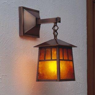 Raymond 1-Light Outdoor Wall Lantern by Arroyo Craftsman
