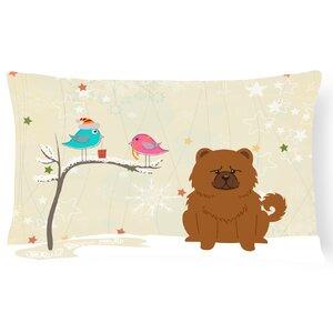 Christmas Modern & Contemporary Indoor/Outdoor Lumbar Pillow