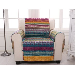 Southwest Quilted Box Cushion Slipcover By Bungalow Rose