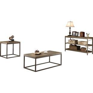Affordable Price Helene 2 Piece Coffee Table Set ByMercury Row