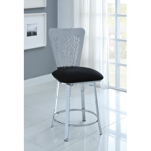 Forgey Swivel Bar Stool by Latitude Run