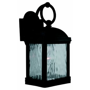 Top Reviews Burg 1-Light Outdoor Wall Lantern By Darby Home Co