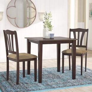 Dinah 3 Piece Dining Set by Alcott Hill