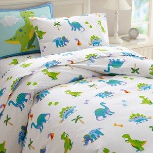 Olive Kids Dinosaur Land Cotton Duvet Cover Set
