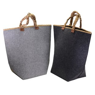 Laundry Basket (Set Of 2) By August Grove