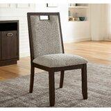 Gatzke Upholstered Side Chair in Beige (Set of 2) by Red Barrel Studio®