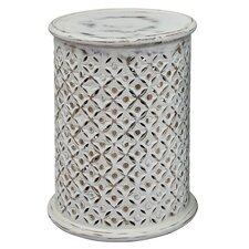 Lorraine Global Archive Drum End Table