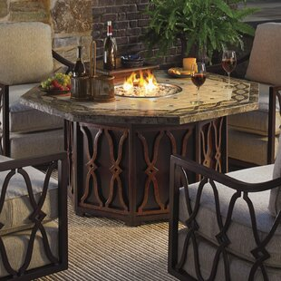 Tommy Bahama Outdoor Royal Kahala Gas Fire Pit Table
