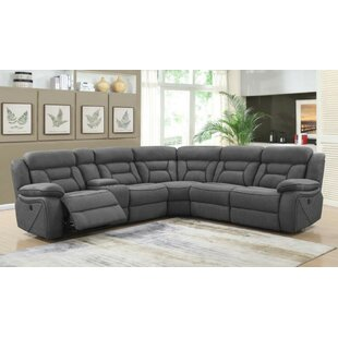 Shop Mowgli Reclining Sectional by Latitude Run