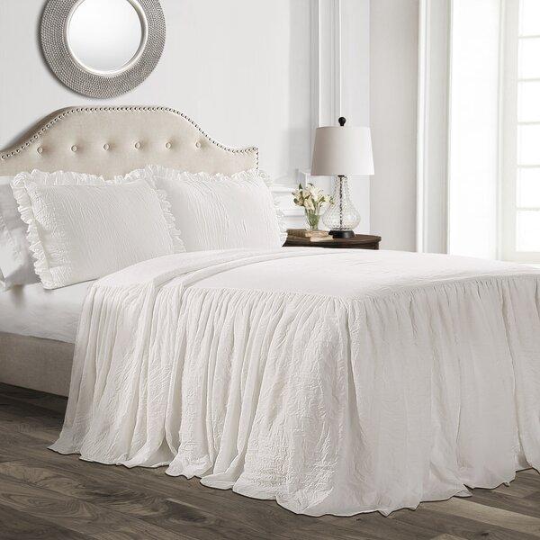 Drop Ruffle Bedspread Wayfair