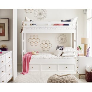 Rachael Ray Home Complete Twin Panel Bed with Storage Drawer