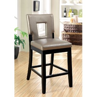 Huffine Counter Height Upholstered Dining Chair (Set of 2) Red Barrel Studio