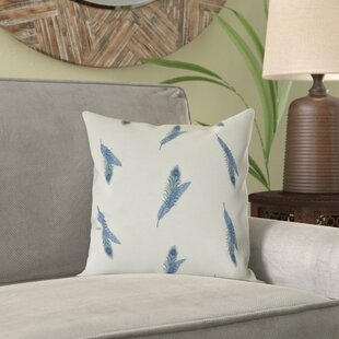 Lassiter Feather Floral Throw Pillow