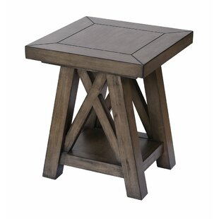Dinardo End Table by Gracie Oaks