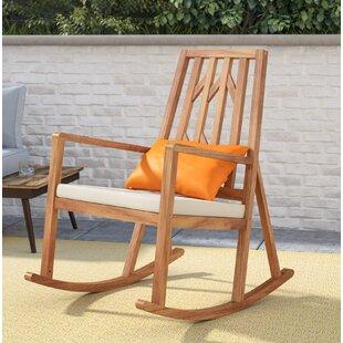 Brayden Studio Hillside Avenue Rocking Chair