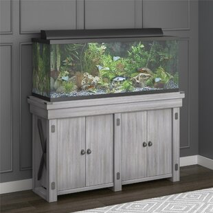 Alfonso 55 Gallon Wildwood Aquarium Stand & Fish Tanks u0026 Aquariums Youu0027ll Love | Wayfair