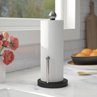 Paper Towel Holder by Rebrilliant Design