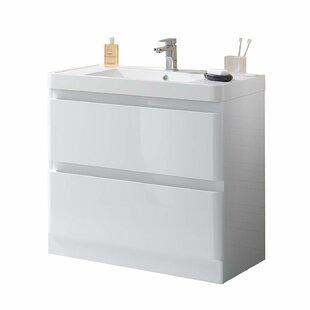 Attalla 35 Wall-Mounted Single Bathroom Vanity Set by Orren Ellis