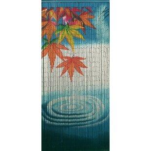 Serenity Water Ripple Bamboo Beaded Single Curtain Panel