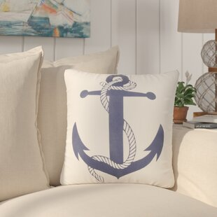 Mortimer Anchor Throw Pillow