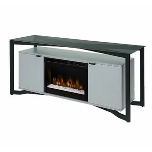Christian 70 TV Stand with Fireplace by Dimplex