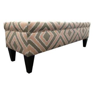 Regis Fabric Storage Bench by Red Barrel Studio