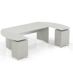 Order Media Executive Desk By Mayline Group