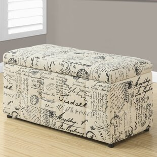 Clearance Vintage Storage Ottoman By Monarch Specialties Inc.