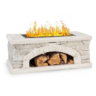 Matera Stone Charcoal And Wood Burning Fire Pit By Blumfeldt