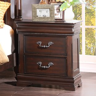 Compare prices Boltongate 2 Drawer Nightstand by Astoria Grand