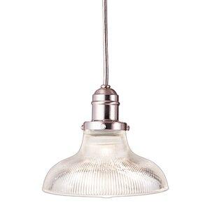 Searching for Vintage 1-Light Inverted Pendant ByHudson Valley Lighting