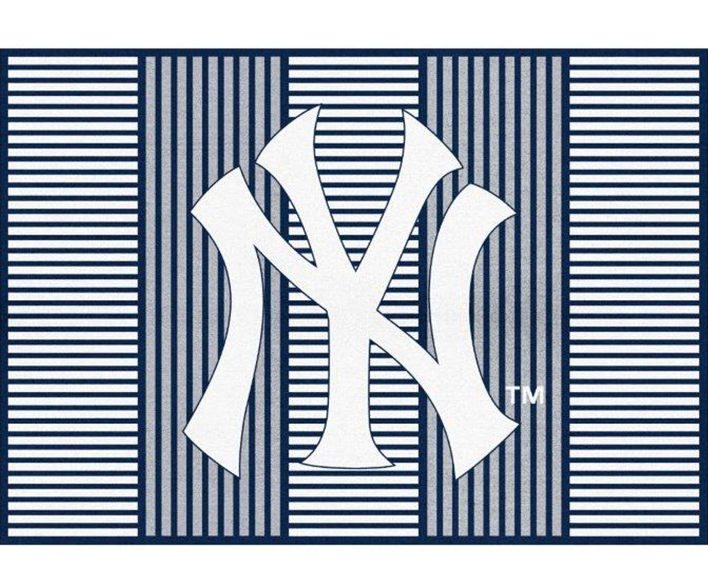 York Yankees Champion Red Area Rug