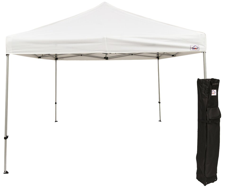 10 Ft. W x 10 Ft. D Steel Pop-Up Canopy  sc 1 st  Wayfair & ImpactCanopy 10 Ft. W x 10 Ft. D Steel Pop-Up Canopy u0026 Reviews ...