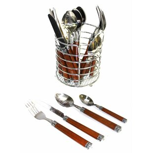 Rainbow Elite 24 Piece Flatware Set, Service for 6