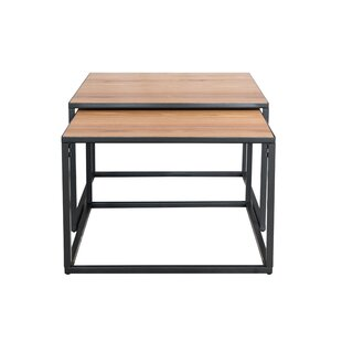 Akino Coffee 2 Piece Nest Of Tables By 17 Stories