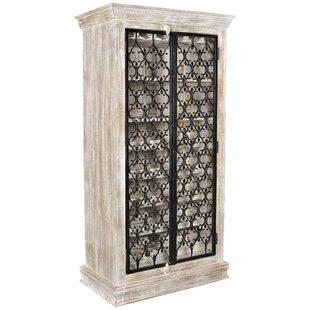 Bungalow Rose Cianciolo Iron Bar Cabinet