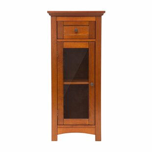 Varney Wooden Floor 1 Door Accent Cabinet by Charlton Home