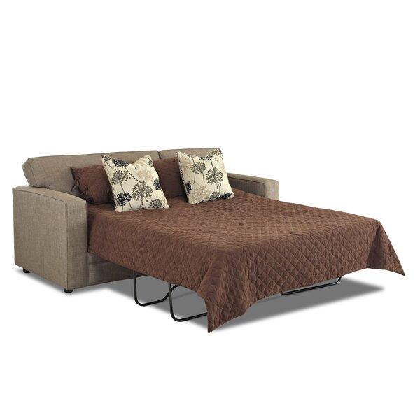 klaussner furniture flume queen dreamquest sleeper sofa u0026 reviews wayfair