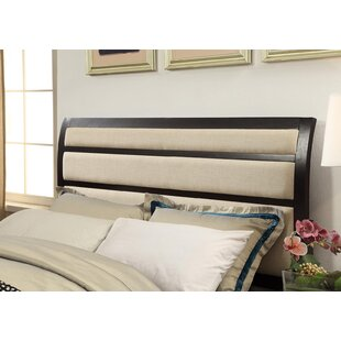 Alona Transitional Upholstered Panel Bed