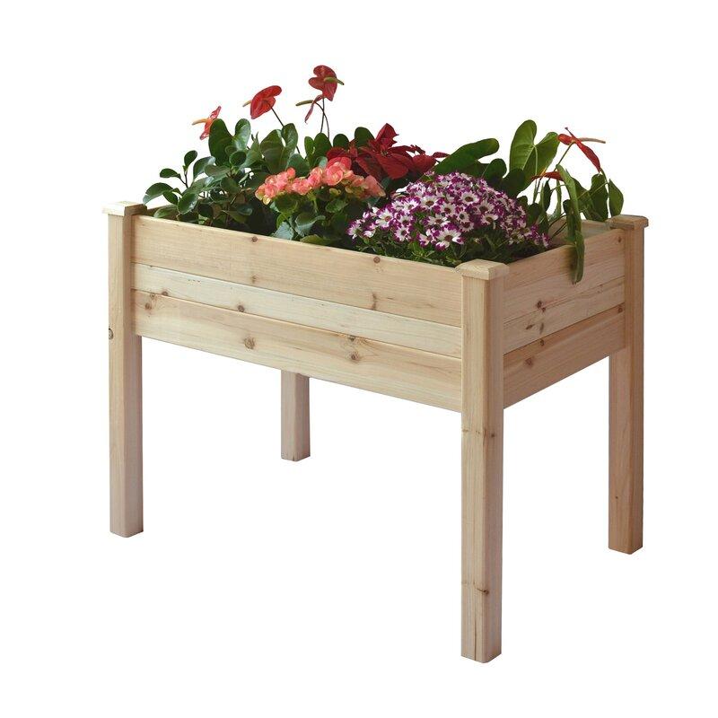 elevated planter