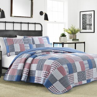 Seaside Patchwork Reversible Quilt Set
