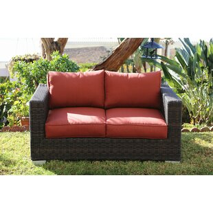 Brayden Studio Fults Loveseat with Cushion