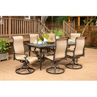 Brayden Studio Sweeten 7 Piece Dining Set