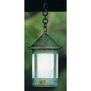 Compare Berkeley 1-Light Outdoor Hanging Lantern By Arroyo Craftsman